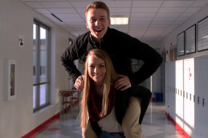 sophomores Carter and Taya