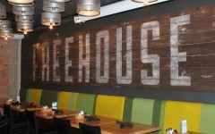 Freehouse's warehouse-feel includes open floorplan and high ceilings.