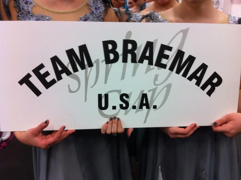 For its eighth consecutive season, Team Braemar received Team USA designation.