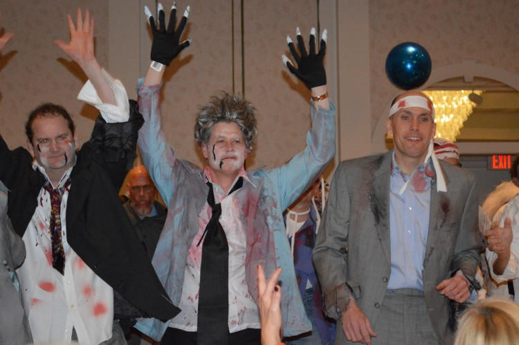Dads get spooky at Father Daughter Dance