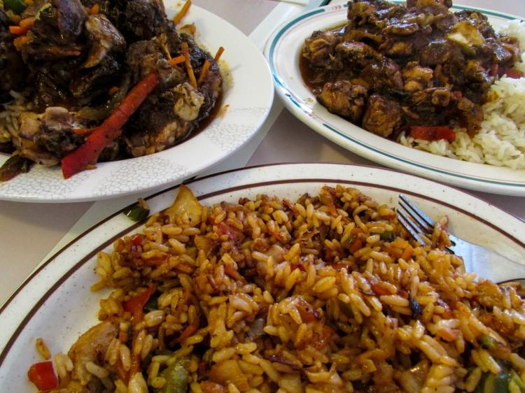 Marla's Caribbean Cuisine offers a combination of Indian and Caribbean options.
