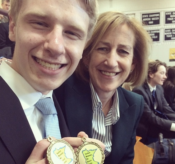 Of Brezas accomplishments, head coach of the speech team, Ms. Maura Brew said, We could not be more proud of him.