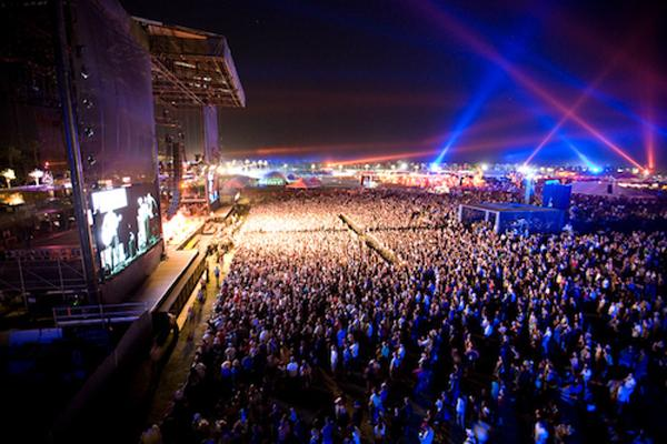 Coachella is a large, annual musical festival that takes place in California.