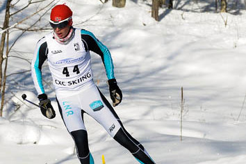 Senior Andrew Egger was given the rank of All American at the junior national nordic skiing tournament.