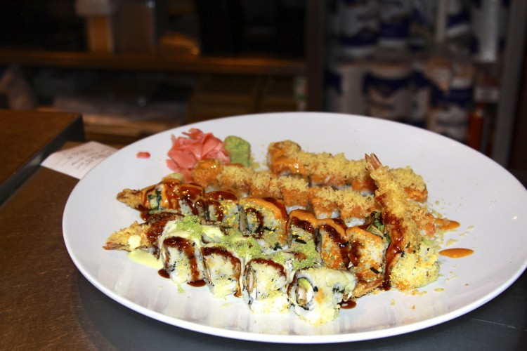 Wakame+has+options+ranging+from+Vegetable+Roll+to+the+Crazy+Monkey+Roll.