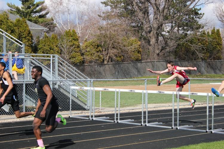 BSM's Matt Paal competed in the 100 meter hurdles.