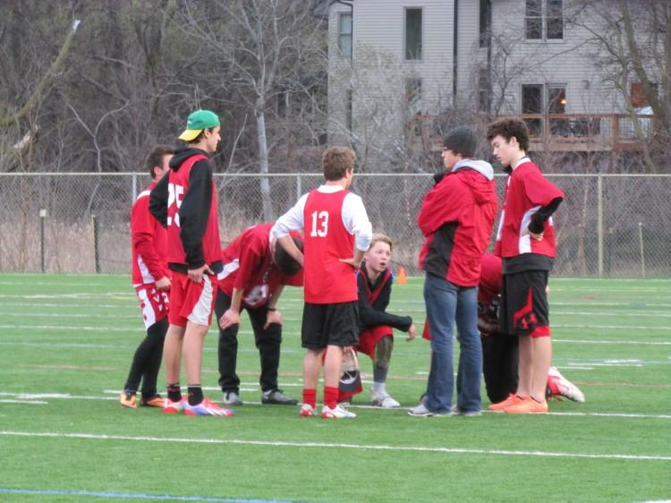 Despite losses this season, the ultimate frisbee team looks forward to finding success next year.