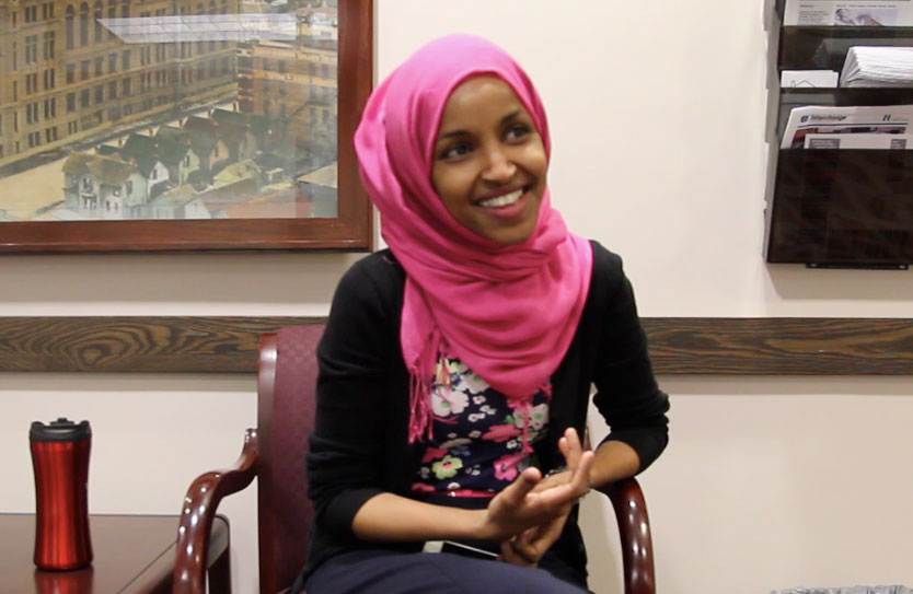 Ilhan+Omar%2C+DFL+Vice+Chair+in+District+60%2C+and+senior+policy+aide+to+Minneapolis+City+Council+Member+Andrew+Johnson+%28Ward+12%29%2C+came+to+the+United+States+as+a+child%2C+and+learned+English+within+three+months.