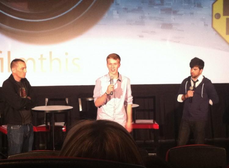 Ben Kohler at the EDU Film Festival.