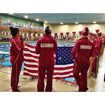 Despite loss of seniors, girls' swim and dive team still boasts huge talent