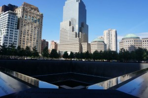 The 9/11 memorial honors those who were killed in the attack.