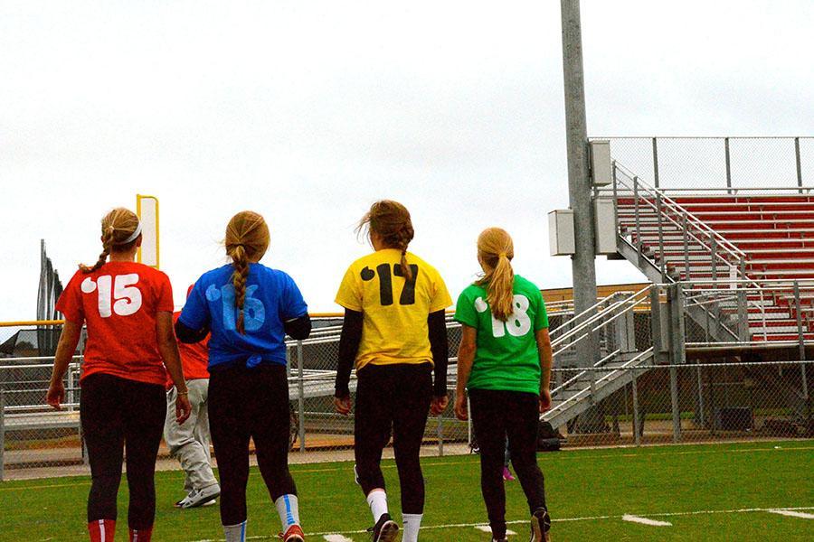 BSM girls compete in annual Powerpuff Football Game