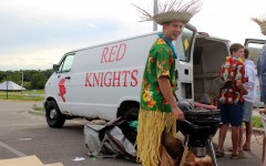 Senior takes tailgates to new level with