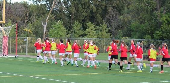 Girls soccer looks to capture third consecutive state title
