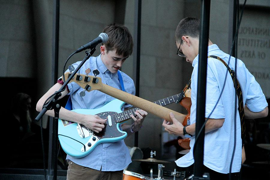 Hippo Campus is accumulating fans as they perform shows around the metro area and get radio airplay on their singles.