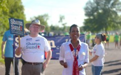 Sharon Sund actively campaigns in the third district.