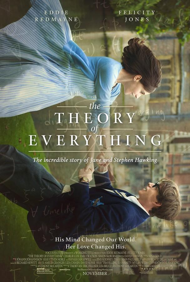 Eddie+Redmayne+and+Felicity+Jones+dig+deep+into+their+bag+of+tricks%2C+as+they+create+realistic+representations+of+Hawking+and+his+wife+in+the+film.