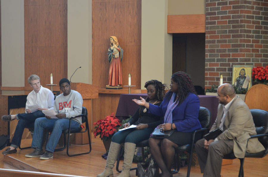 A+panel+to+discuss+the+topic+of+police+brutality+was+held+in+the+BSM+chapel+on+Wednesday%2C+December+17.+