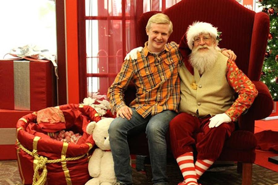 Santa Visits: Then and Now