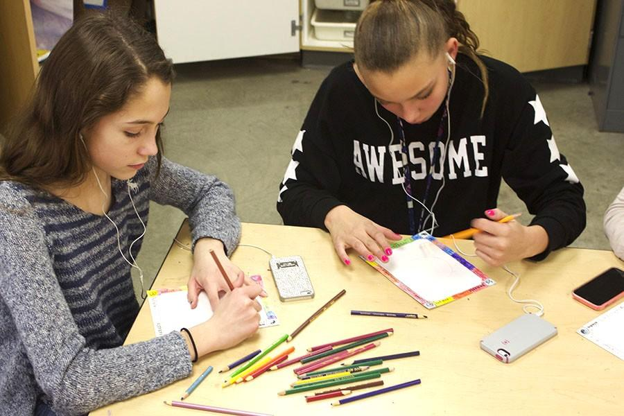 Religion students work to create peace