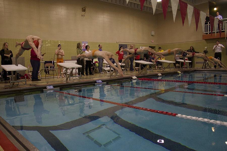 Making a splash: boys' swimming surpasses expectations