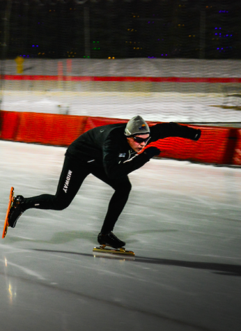 After traveling to ovals throughout the United States and Canada, Lundberg hopes to push his success to the junior world cup final.