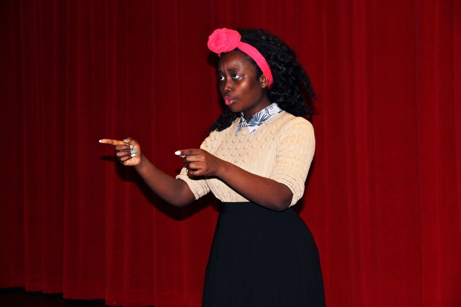Kaffey uses personal experience and opinion to write her spoken word poetry. Her ultimate goal is for someone to hear her work and feel how she feels about the injustices towards black people in America.