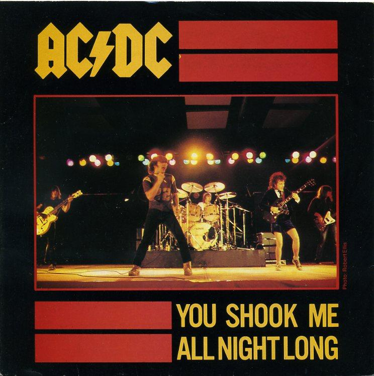 AC/DC never fails to rile a crowd up in concert or in a sports stadium.