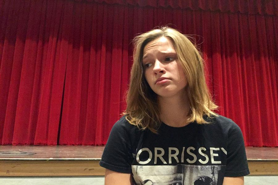 Emma grieves over her failure to be a part of any BSM production to date.