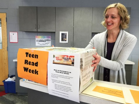 Teen Read Week encourages reading for fun among students