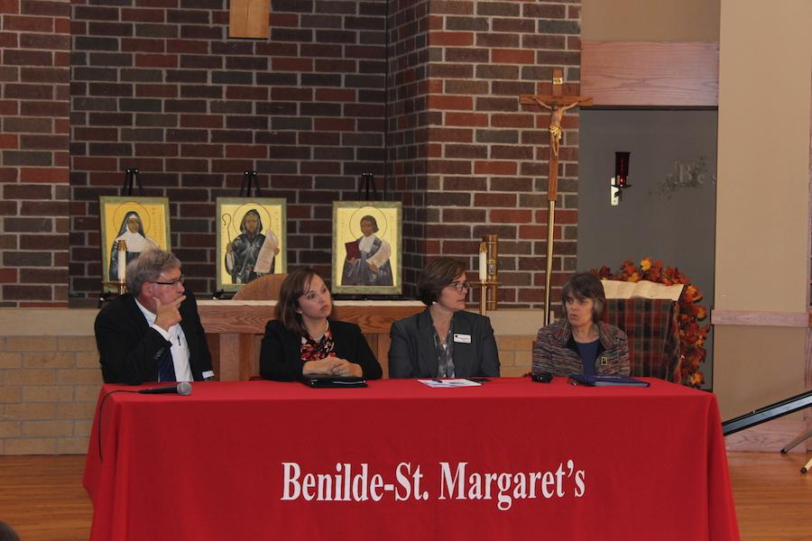 Mr. Steve Ekcert, Ms. Jennifer Larimore, Dr. Sue Skinner, and Ms. Mary Beth Tinker were all featured on the panel.