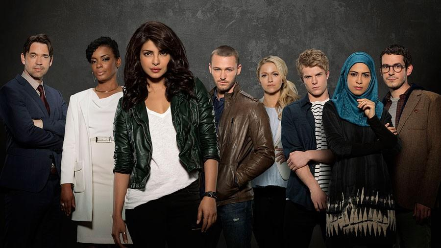 These FBI agents, including one of them that blew up the Quantico, the title of the new ABC show.