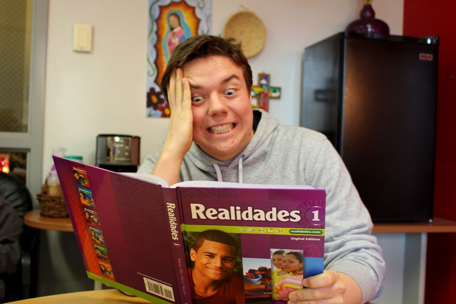 Lundberg laments over the emphasis on Realidades textbooks in Spanish classes.