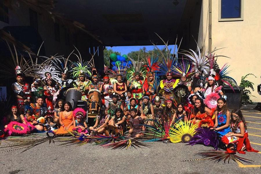 Mexica Yoltol is a Minneapolis-based traditional Aztec dance group of about thirty people that shows the heritage of pre Hispanic cultures of Mexico, under the teaching of Chief Tenoch Cortes España from Axochiapan, Mexico.
