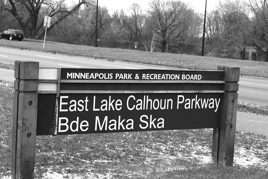 Lake Calhoun adds name Bde Maka Ska because of discussion surrounding John C. Calhoun