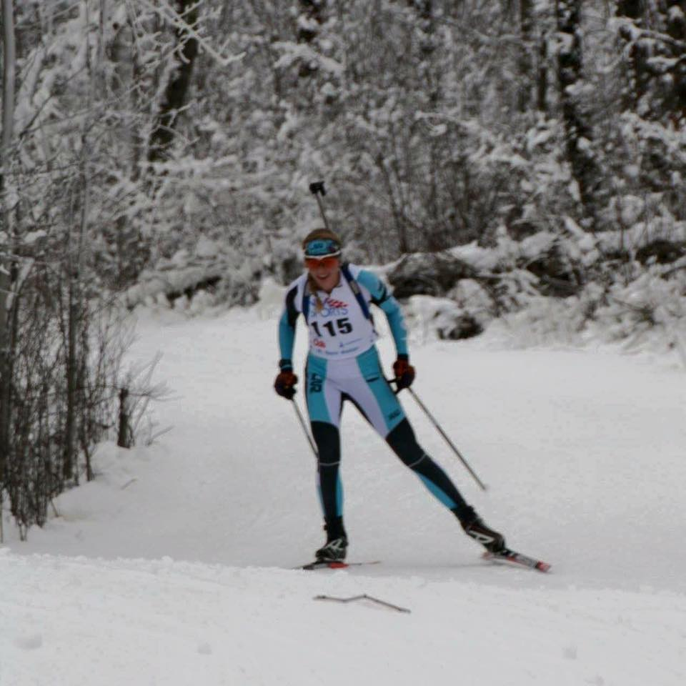 Senior nordic skier Amanda Kautzer has found even more success in biathlon, having already qualified for the Youth Olympic Games.