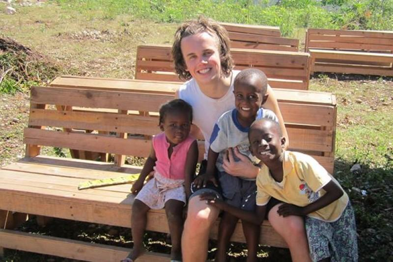 This April, Micah Vandersteen ('14) will return to the Haitian village of Pasquette for the fourth time.
