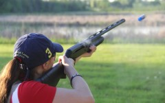 The grant helps provide the clay target team with funding supplies.