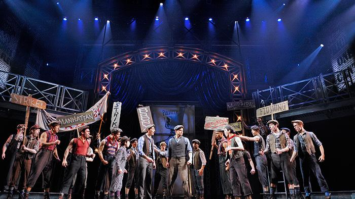 Newsies+is+a+run-of-the+mill+Broadway+story+brought+to+life+by+show-stopping+dance+and+raw+talent+in+the+cast.