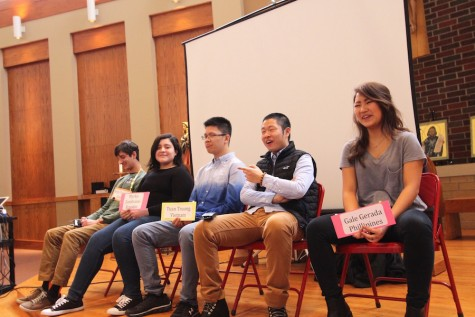 BSM international students shared their experiences with language classes.