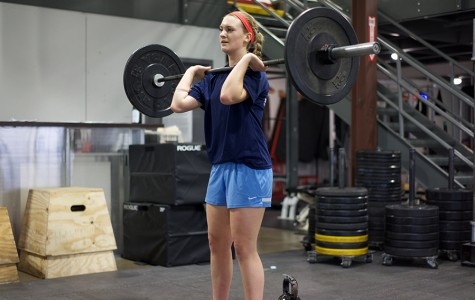 Lauren Gustafson builds strength through Cross Fit in hopes of attending the Airforce Academy