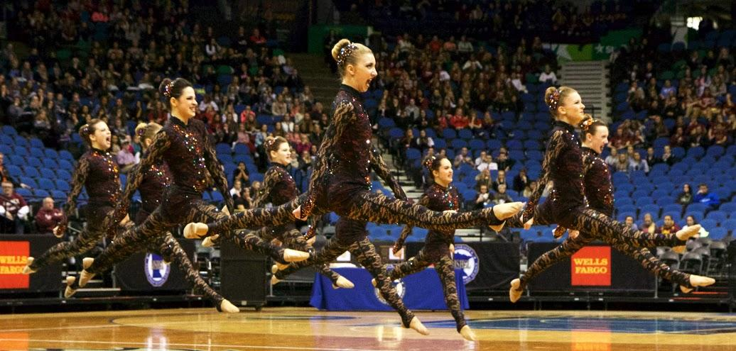 The Dance Team is a perennial contender in Jazz but also moved up to 5th in the State in Kick.
