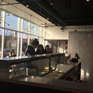 Customers lined up out of the door is not an uncommon sight at Milkjam Creamery.