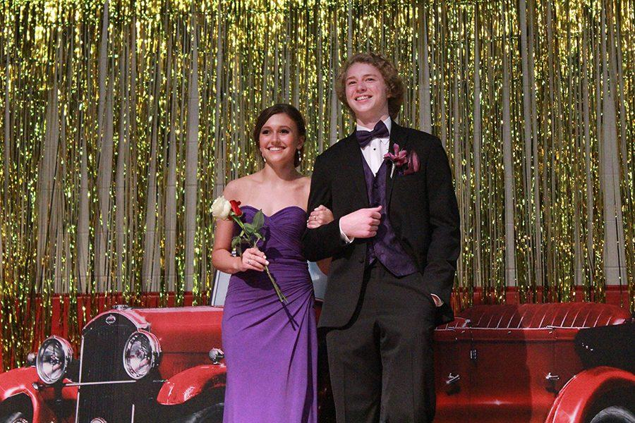 Senior Celia Smithmier was crowned Prom Princess at the Grand March.