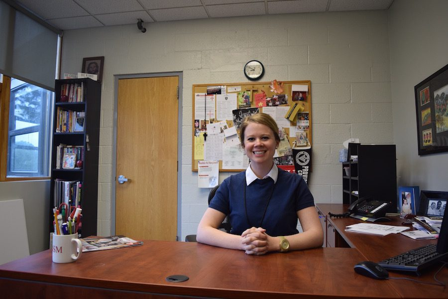 Serving as interim principal for the past year, Shea has been selected as the permanent Junior High Principal.