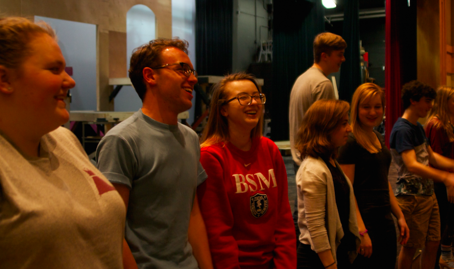 Many of the seniors have been involved in the theater department since 7th or 9th grade.