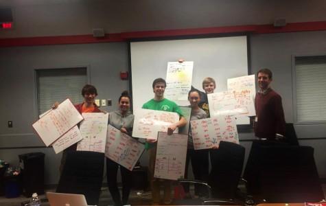 Seniors compete in Moody's Mega Math Challenge