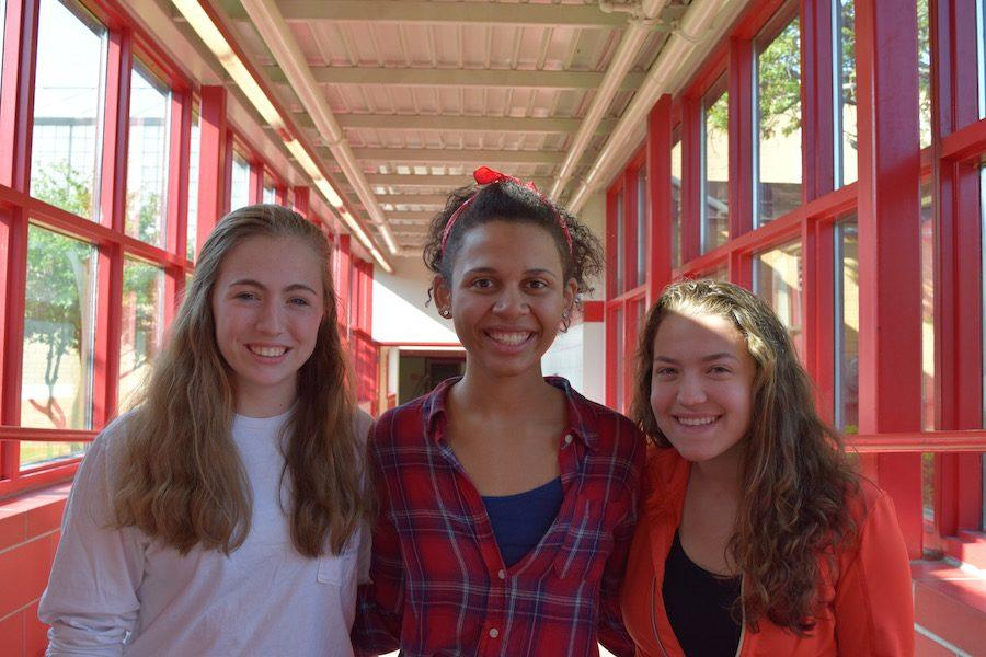 Juniors Molly Keady, Morgan Bettin-Coleman, and Mckenzie Dunleavy were selected to participate in Girls State.