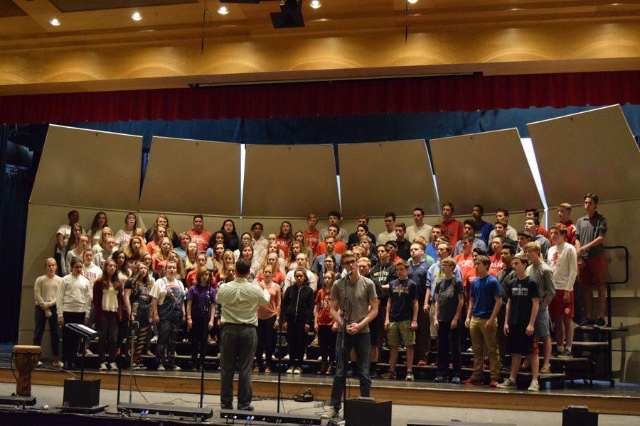 BSM+Choir+rehearses+for+their+annual+spring+concert.