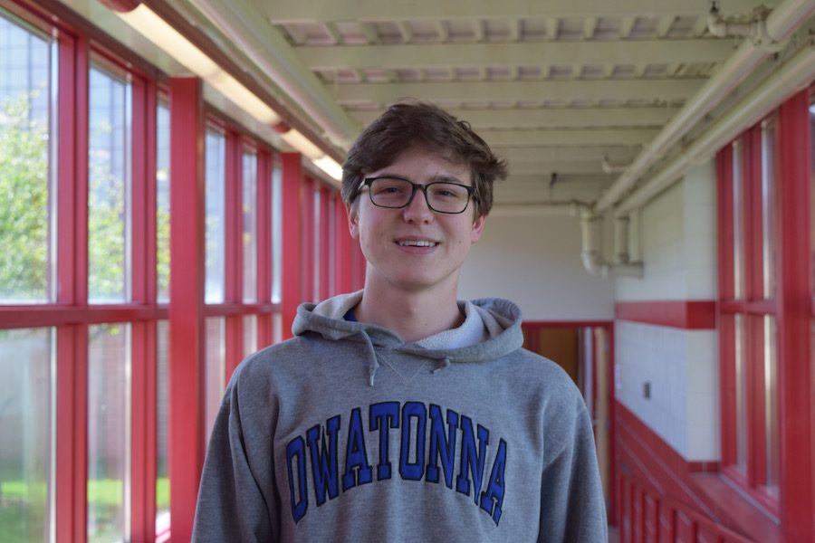 Senior Jake Lundell wins a national film award for a video he created in Film Studies.